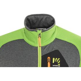 Karpos Odle Fleece Jacket Men apple green/dark grey
